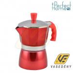 Perfect home 10059  Kávéfőző piros 3 személyes