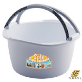 SOLE 51004 Füles műanyag kosár 16 literes