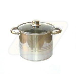 Perfect home rozsdamentes fazék fedővel 26*20,5 cm