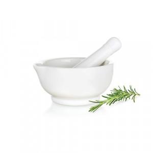 Banquet 60810847-A Bianca porcelán mozsár fehér