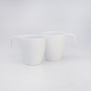 La Porcellana 15468 Porcelán bögre szett 2 darabos díszdobozban 2dl Aria