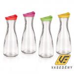 Banquet 04K9009 Misty üveg palack műanyag tetővel 900ml