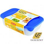 Curver 08026-139-00 FRESH-GO Szögletes ételtartó doboz szett 3 részes