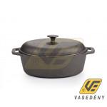 Perfect Home 15534 Öntött vas kacsasütő 6,2 literes