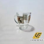 Cerve Bögre, üveg, 38 cl, kávés minta, Old Times Coffee, 165175