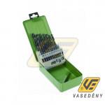 Fúrófej készlet 20305 Fémhez 19 db-os 1-10 mm