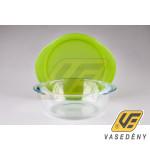Pyrex 203055 Cook  kerek sütőtál+műanyag fedő 20 cm