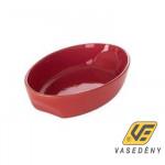 Pyrex 203240 Kerámia sütőtál ovális 33x21cm Curves Red