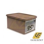 ELEGANCE 20402 tároló doboz 15 literes Kifutó termék!