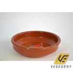 Cok 225410 Kerek kerámia sütőtál mázas 18x4 cm