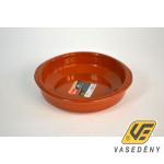 Cok 225412 Ovális kerámia sütőtál mázas 18x4,5 cm