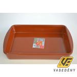 Cok 225417 Szögletes kerámia sütőtál mázas 32 cm