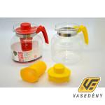 Hőálló teakanna 232212 szűrővel Ewa 1,85 liter színes