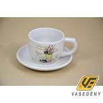 Kerámia csésze készlet 285531 levendulás 250 ml