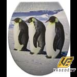 Panitalia Wc ülőke, duroplast, pingvines, P-C