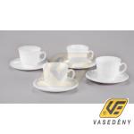 Luminarc 500185 Opál teás készlet 4 darabos