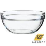 Luminarc Salátás tál, üveg, 9 cm, Empilable, 502085