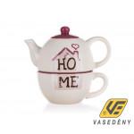 Banquet Home teás kancsó + csésze 60337067