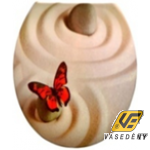 Panitalia Wc ülőke, duroplast, bézs pillangós, P-H