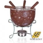 Banquet 17AA1203-A Csokoládé Fondue készlet 6 részes Choco Blossoms