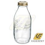 QUATTRO TOMATO 119026 tároló üveg+tető 1 liter