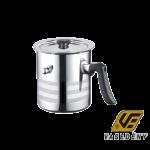 Blaumann BL 3444 Rozsdamentes duplafalú tejforraló fedővel 2 literes