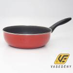 Zománcozott nyeles sütőtál tapadásmentes bevonattal 24cm piros
