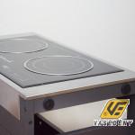 Barbecook 16055 2 lapos indukciós főzőlap mobil kocsin