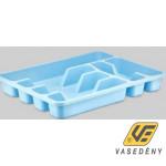 Evőeszköztartó, műanyag, 38x30 cm, színes, ER29