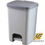 Curver 00760-686-00 Essentials pedálos szemetes 40L  antracit-szürke