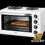 ECG ET 32303  Mini sütő főzőlappal fehér 3200W