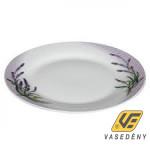 Banquet 60112L01 Porcelán lapos tányér 24cm Levendula