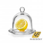 Banquet 04308002 Üveg citromtartó 12,5cm Limon