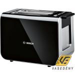 Bosch TAT8613 Styline  Kenyérpirító 2 szeletes 860W fekete Kifutó termék!