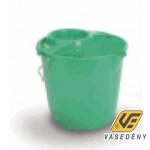 Felmosóvödör, műanyag, csavaróval, 10 literes, SA278
