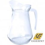 Korona 10401005 Üveg kancsó Flora 1,5 liter
