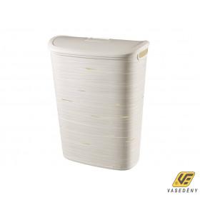 Curver 00746-X07-00 Ribbon szennyestartó 49L fehér