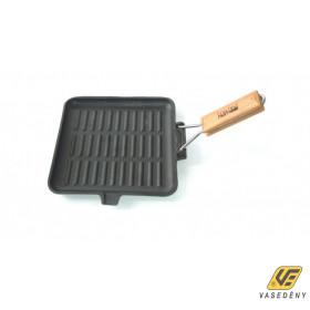 Perfect home 10376 öntöttvas grill serpenyő  24 X 24 cm