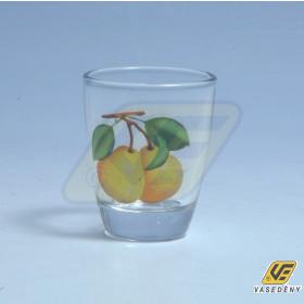 Korona 10601041 Pálinkás pohár körtés