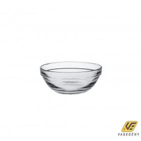 Korona 13502625 Lys Sorolható üveg tál 10,5cm