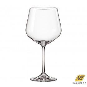 Korona 11300050 Siesta kristály kehely burgundy 540 ml