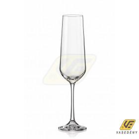 Korona 11300060 Siesta kristály kehely pezsgős flőte 180 ml
