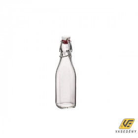 Bormioli Rocco Csatos üveg, 0,25 liter, Swing, 119605
