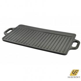 Perfect Home 12014 Öntöttvas grill lap 2 oldalas 51*24cm