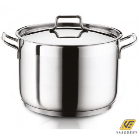 Hascevher 12823 Anett rozsdamentes fazék fémfedővel 3,5 liter