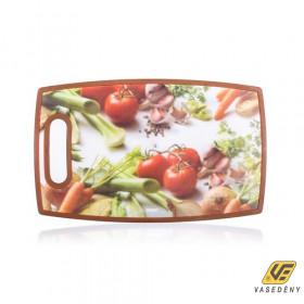 Banquet 12FHH20019 Műanyag vágódeszka 36x22,5cm Vegetables