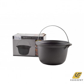 Perfect Home 13284 Öntöttvas natúr bogrács 3 literes fekete