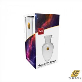Cok 177-F2520 Üveg váza 20cm Galatea