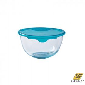 Pyrex 203211 Keverőtál műanyag fedővel 0,5 liter Prep and Store