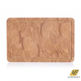Banquet 27023301 Rubberwood fa vágódeszka 38x25x3cm Brillante